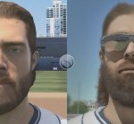 The improvement in graphics is tremendous, as evidenced by the meticulous detail on Jayson Werth's Jeremiah Johnson beard here.